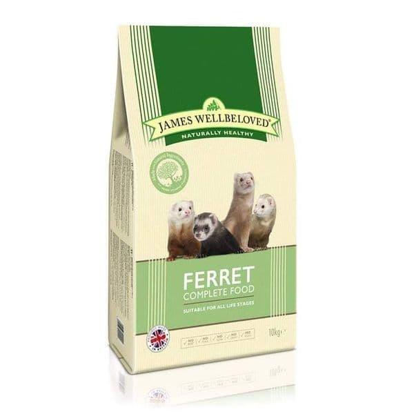 J/w ferret food 10kg